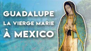 Découvrez Guadalupe, à Mexico, les apparitions de la Vierge Marie à Juan Diego, l'humble indien devenu saint, en 1531 à travers l'histoire et le message original Nican Mopohua de 1550 racontés en Français moderne.