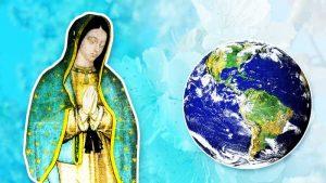 Guadalupe, à Mexico, les apparitions de la Vierge Marie à Juan Diego, l'humble indien devenu saint, en 1531 avec l'histoire et le message original Nican Mopohua