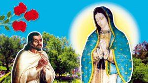 Découvrez Juan Diego, ce saint petit indien qui a assisté au miracle du manteau, sa Tilma, où la Vierge de Guadalupe a imprimé son image, son icône. Énigme pour la science, fait miraculeux et surnaturel qu'on peut constater encore aujourd'hui à la basilique notre-Dame de Guadalupe : la Vierge Marie imprime son icône miraculeuse, qui est comme vivante, sur la tunique de Juan Diego en cette quatrième apparition.