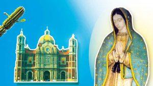 Notre Dame de Guadalupe, découvrez ici l'histoire merveilleuse (suite) des apparitions de la Vierge Marie. Elle demande la construction d'une église au Tepeyac, qui deviendra la basilique Notre-Dame de Guadalupe aujourd'hui englobée dans la ville de Mexico. Notre Dame de Guadalupe se fête chaque année le 12 décembre, le sanctuaire est le lieu d'un pèlerinage parmi les plus visités de l'Eglise catholique, visité aussi par le pape Jean-Paul II et le pape François.