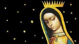La Vierge noire de Guadalupe vient une troisième fois à Mexico, sur la colline de Tepeyac. La Vierge est enceinte dans cette apparition, comme les spécialistes le voient grâce aux signes imprimés sur la Tilma, elle attend la naissane de Jésus Fils de Dieu, c'est pourquoi elle est vraiment la Vierge Marie Mère de Dieu. Cette Vierge du Mexique, au visage indien, est très proche d'une Vierge noire.
