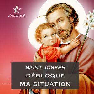 Prière pour débloquer toute situation à saint Joseph