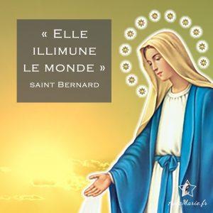 prière du matin à la Vierge Marie