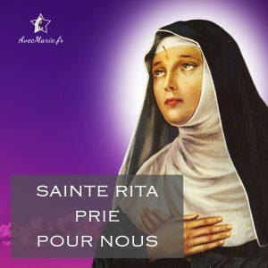 Sainte Rita, reçois cette prière puissante pour débloquer toute situation que nous confions au Père à travers toi. Sainte Rita de Cascia est célèbre pour exaucer les prières en situation difficile et patronne des causes désespérées.
